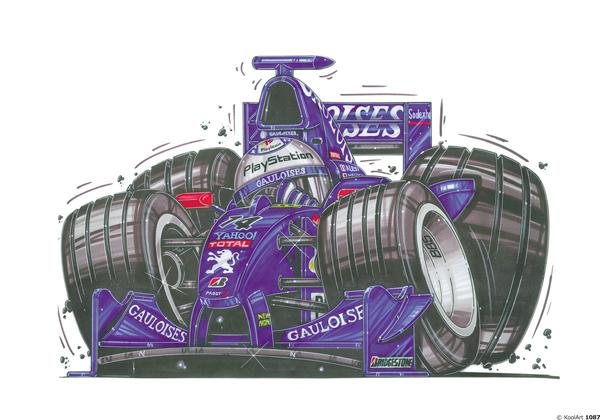 Formule 1 Prost Bleue