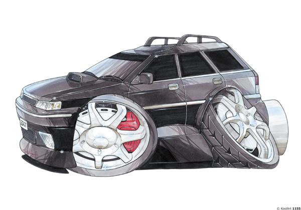 Subaru Legacy Noire
