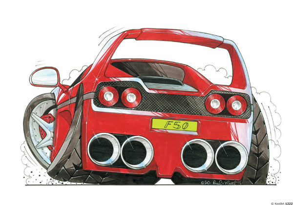 Ferrari F50 Rouge