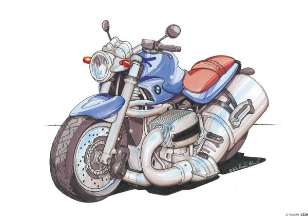 BMW 1150 Bleue