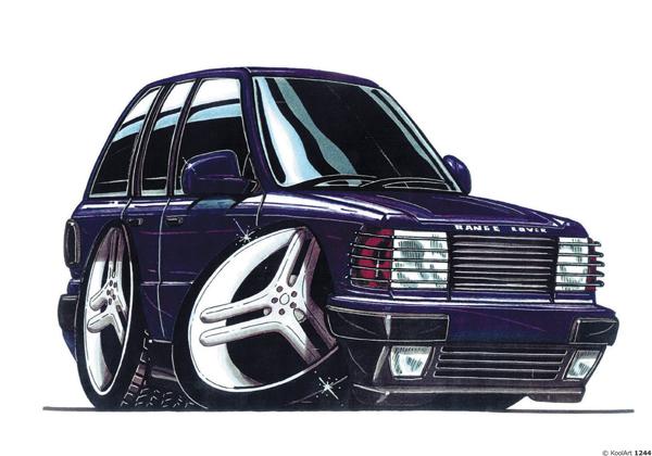 Land Rover Range Violet