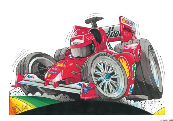 Ferrari F1 Rouge Schumi
