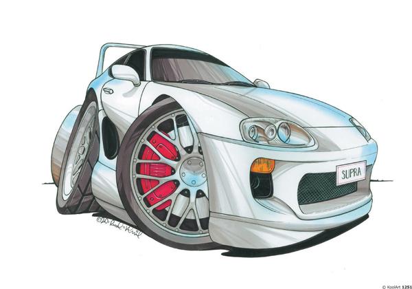 Toyota Supra Sport Grise