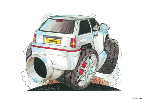 Opel Corsa Blanche