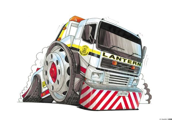 Camion Volvo Dépannage