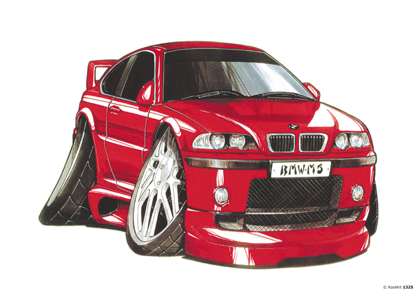BMW M3 Rouge