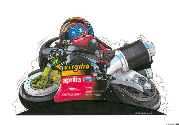 Aprilia RSV 1000 Noire