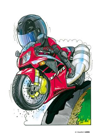 Honda VTR Rouge