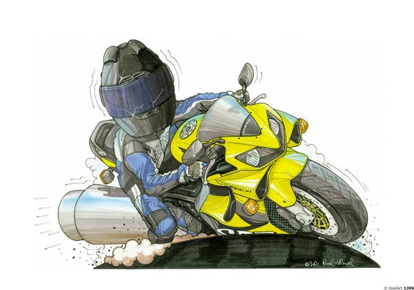 Honda CBR 600R Jaune