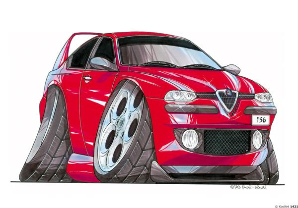 Alfa Roméo 156 Rouge