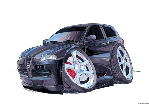Alfa Roméo 147 Noire