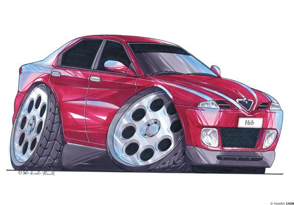 Alfa Roméo 166 Rouge