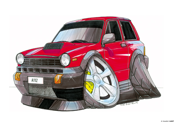 Fiat A112 Abarth Rouge