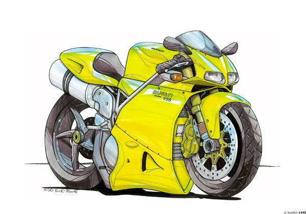 Ducati 998 Jaune