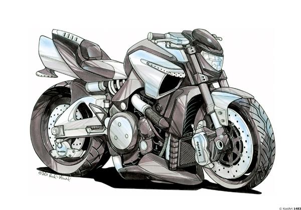 Suzuki Bking Noire