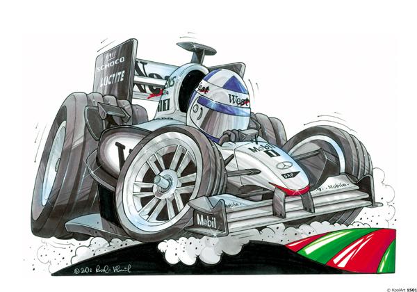 Mercedes Formule 1 Grise