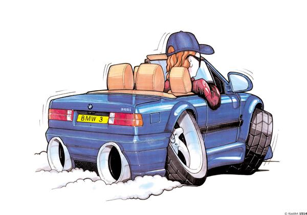 BMW Serie 3 325i Cabriolet Bleu