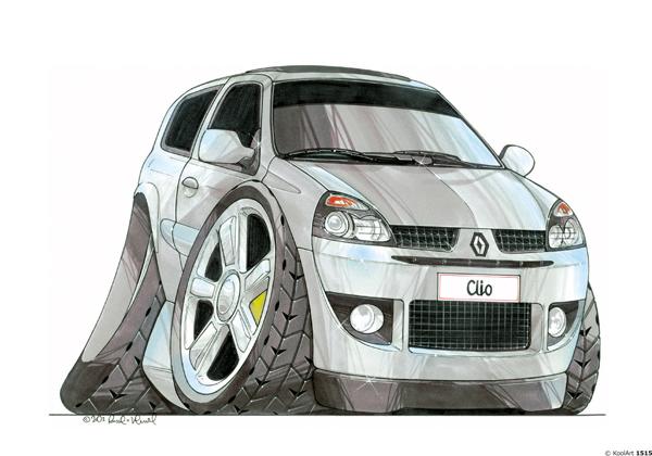 Renault Clio 2 Grise