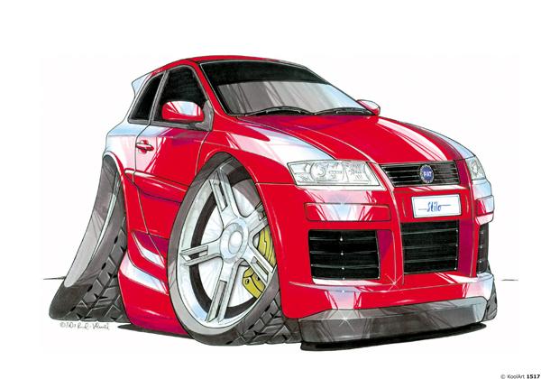 Fiat Stilo Rouge