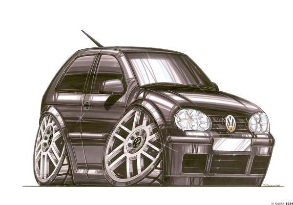 Volkswagen Golf Noir