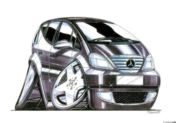 Mercedes Classe A Noire