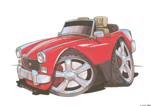 MG Midget Rouge