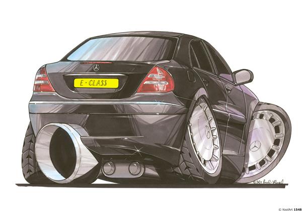 Mercedes Classe E Noire