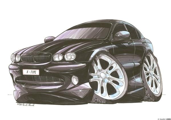 Jaguar X Type Noire