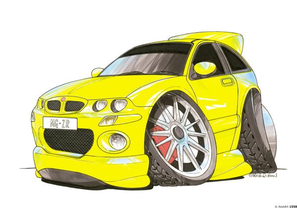MG ZR Sport Jaune