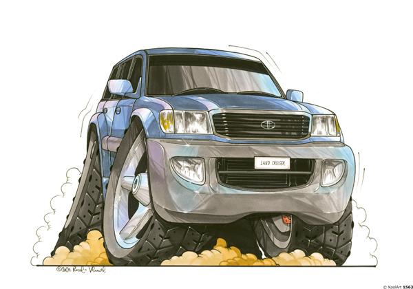 Toyota Land Cruiser Bleu