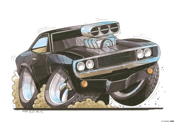 Dodge de Fast & Furious
