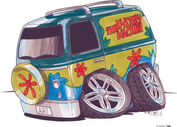 Van Scooby Doo