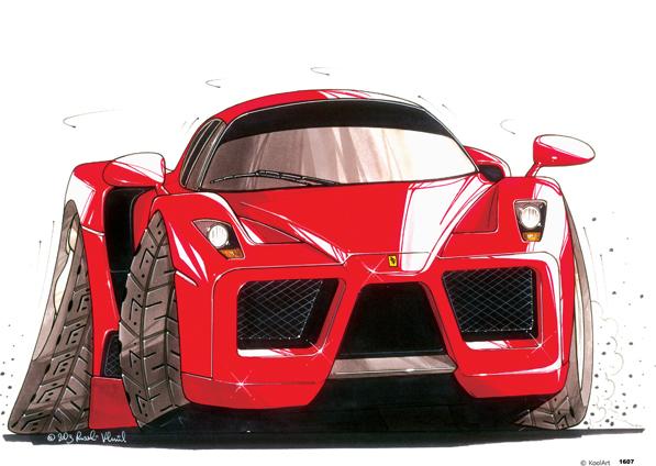 Ferrari Enzo Rouge