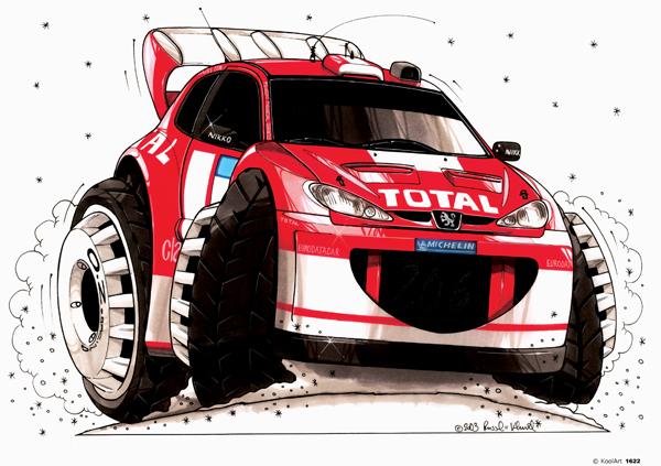 Peugeot 206 Rallye Rouge
