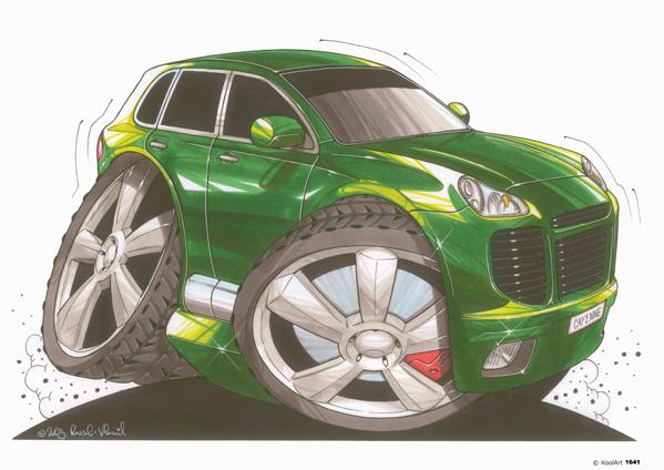 Porsche Cayenne Verte