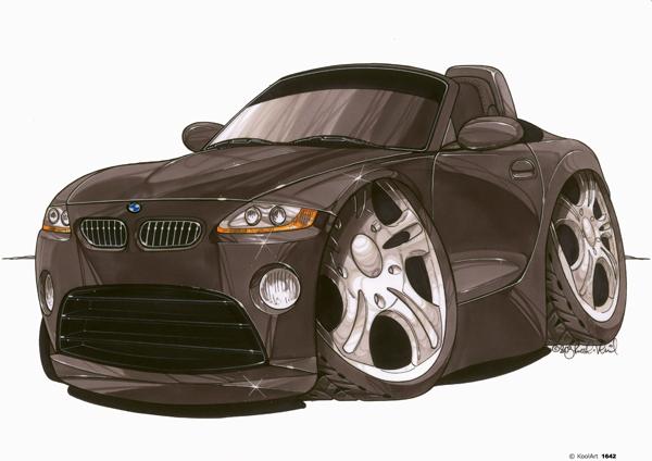 BMW Z4 Noire