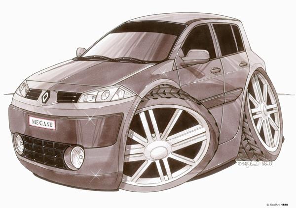 Renault Megane Grise