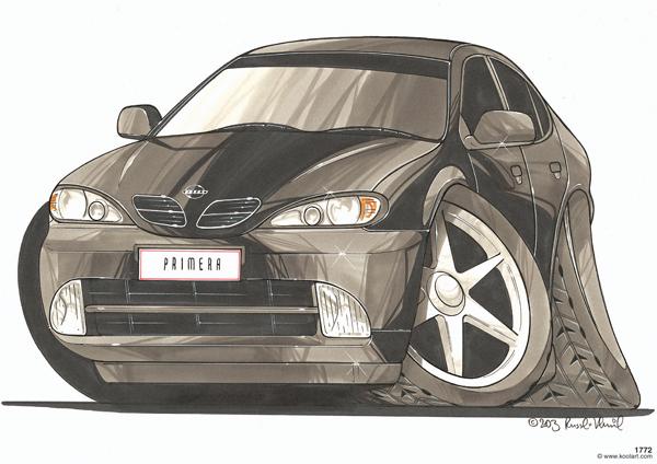 Nissan Primera Noire