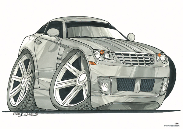 Chrysler Crossfire Grise