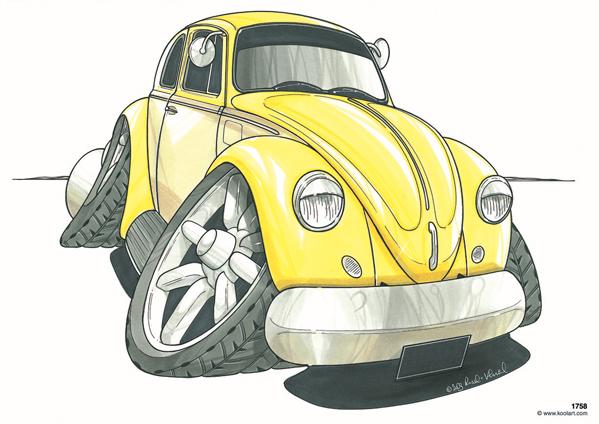 Volkswagen Cox Jaune