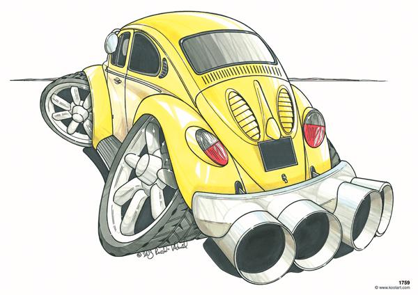 Volkswagen Coccinelle Jaune