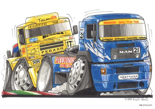 MAN Camion Course