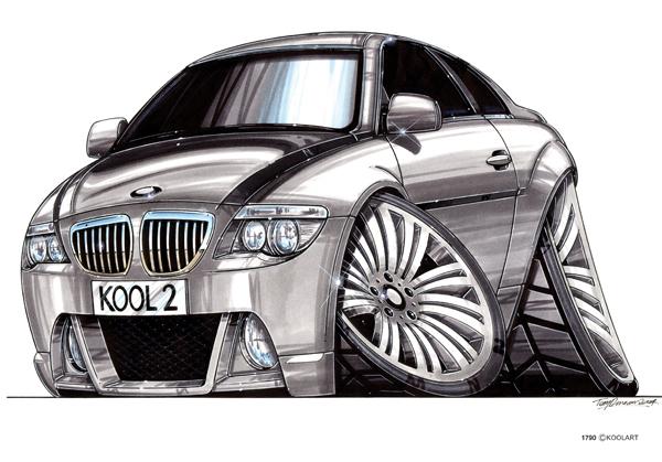 BMW Serie 6 Grise