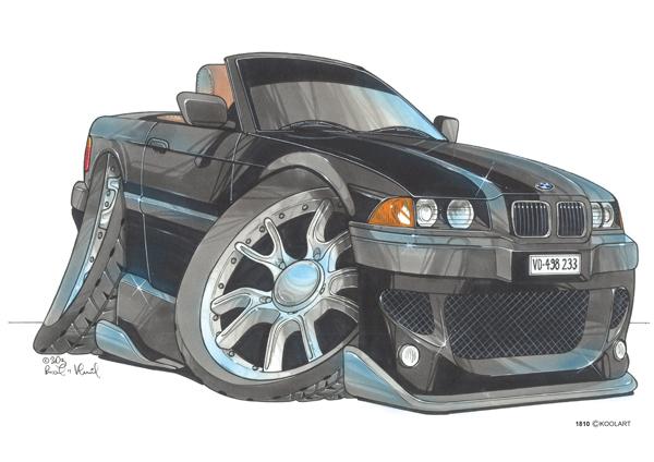 BMW Serie 3 Noire