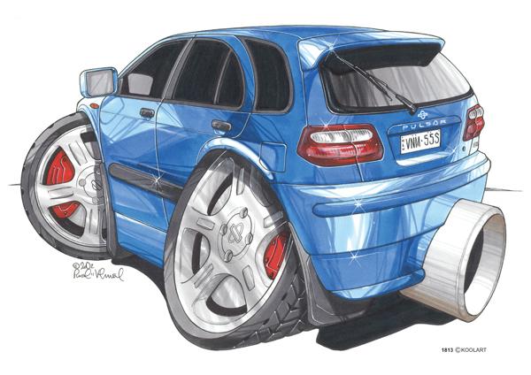 Nissan Almera Bleue