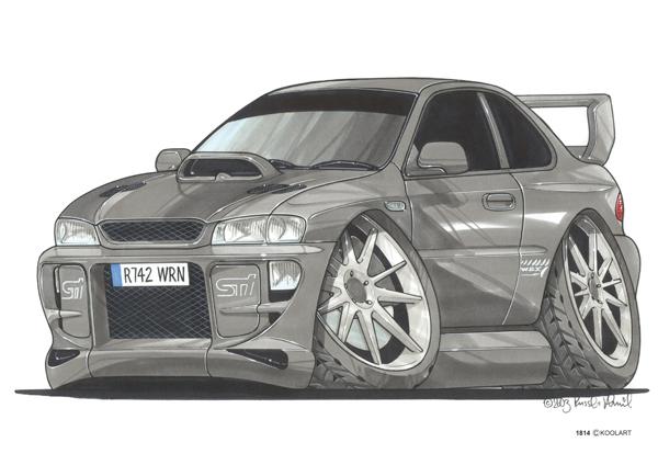 Subaru Impreza Grise