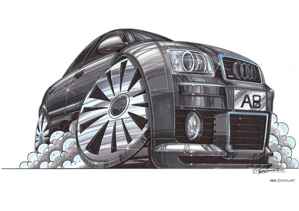 Audi A8 Grise
