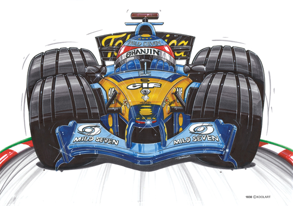 Renault Formule 1 Alonso
