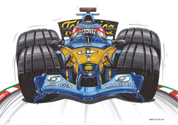 Renault Formule 1 Alonso