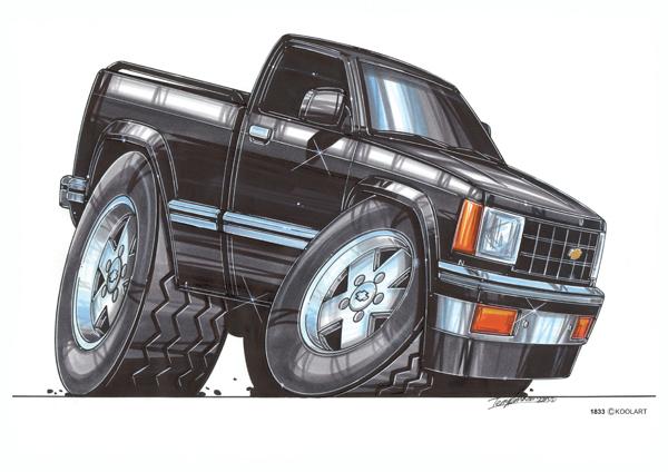 Chevrolet Pickup S10 Noir